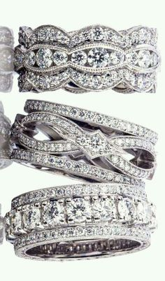 TACORI Platinum Diamond Eternity Engagement Rings and Bands | La Beℓℓe ℳystère