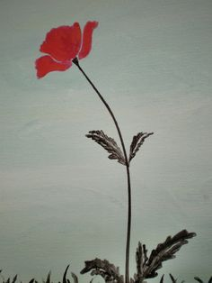 Red Poppies---- YAY! just did this one and got it up on etsy! woo.