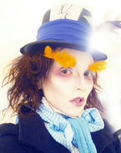 Kandee as the Mad Hatter