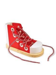 Lacing Sneaker by Melissa & Doug: $12 #Toys #Melissa_&_Doug #Lacing_Sneaker