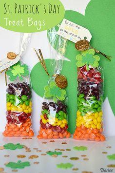 Rainbow Candy St. Patrick's Day Treats