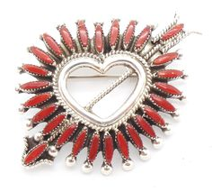 Art Deco, Southwest Art, Fire Heart, Handmade Sterling Silver, Native American Jewelry, Hair Jewelry, Decorative Objects, Turquoise Jewelry, Jewelry Ideas