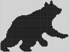 Bear 7 Cross Stitch Pattern pattern on Craftsy.com