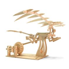 A range of model timber kits inspired by the 15th century inventions of Leonardo da Vinci.Catapult - suitable for ages 8 and over. First invented in Ancient Greek and Roman times, Leonardo created this design around 1485, and used the spring-like energy stored in the tension of bent wood to give power to the spring arm. This model will fling a small clay ball over 4 metres. Trebuchet - suitable for ages 8 and over. Trebuchets were common siege engines in Medieval Times, but Leonardo's…