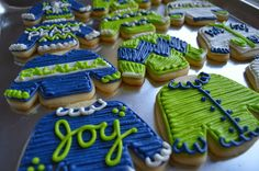 Bake Me Happy: Tacky Seahawk Sweaters!