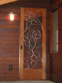 love this idea for front screen door or back door