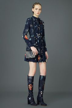 Valentino's Latest Collection Is Begging to Be Worn by Space Geeks: Oh my stars! Valentino's Pre-Fall 2015 is otherworldly.