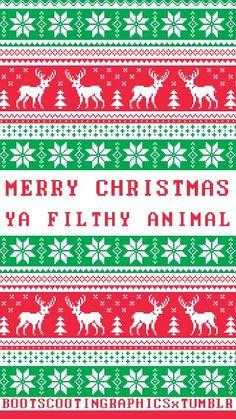 Christmas phone wallpaper!