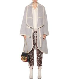mytheresa.com - Printed velour track pants - Luxury Fashion for Women / Designer clothing, shoes, bags