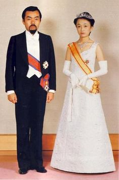 Prince Tomohito and Princess Nobuko