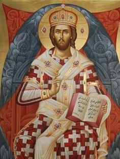 Icono Jesucristo Alto Sacerdote Prelado Icon Iconos ortodoxo icono Icoon
