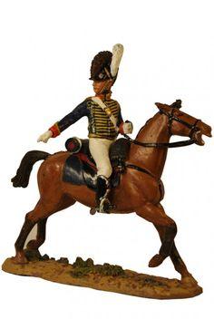 Канонир Королевской конной артиллерии, Британия 1811 г. Gunner, Royal Horse Artillery, Del Prado Cavalry №56
