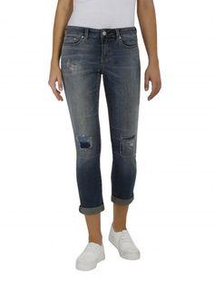 Kasey Crop Slim Boyfriend Jeans