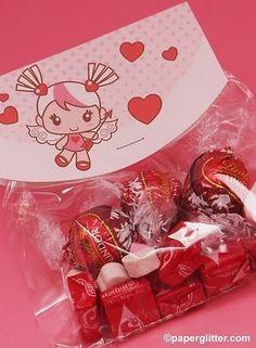 Free Valentine Goodie Bag Cards