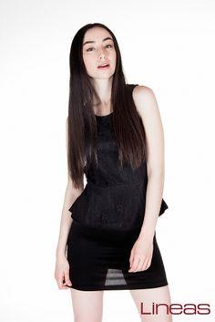 Vestido. Modelo 16860. Precio $230 MXN #Lineas #outfit #moda #tendencia #2014 #ropa #prendas #estilo #outfit #primavera #vestido