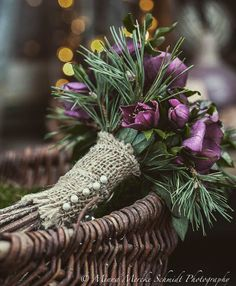 Blomsterverkstad: 7 ways to decorate with flowers for Christmas