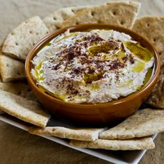Black-Eyed Pea Hummus with Olive Oil and Sumac Recipe