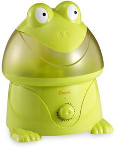 ShopStyle: Crane Adorable Frog Ultrasonic Humidifier. Yes I have one. Loves it!