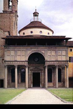 Brunelleschi, Pazzi Chapel at Santa Florencia Italia. Renaissance Architecture, Baroque Architecture, Sacred Architecture, Classical Architecture, Historical Architecture, Architecture Design, Landscape Architecture, Italian Renaissance, Renaissance Art
