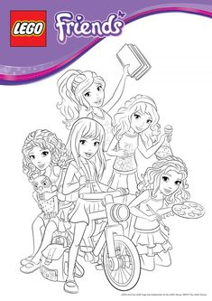 coloring pages lego friends birthday lego friends party lego birthday party 7th birthday