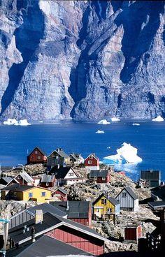 Sea Cliff Village, Greenland Places to visit / Travel destination / Tourism Places Around The World, Oh The Places You'll Go, Travel Around The World, Places To Travel, Travel Destinations, Places To Visit, Around The Worlds, Dream Vacations, Vacation Spots