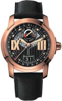 Blancpain L Evolution Semainier Grande Date 8 Jours Rose Gold - 8837-3630-53B