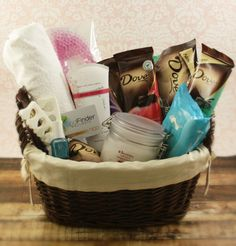 This Mother's Day, #SharetheDove with a DOVE Mother's Day Spa Gift Basket
