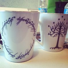 Lord of the Rings - Sharpie Mug