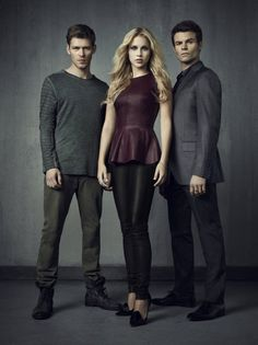 The Originals (TV show) cast members Joseph Morgan, Claire Holt and Daniel Gillies picture #29 of 32