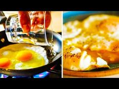 Did you know that boiling pasta and frying eggs might be easier than they already are? We've gathered some life hacks for preparing food, cleaning and organi. How To Cook Corn, How To Cook Pasta, Hacks Cocina, Perfect Eggs, How To Make Sushi, Food Preparation, Food Hacks, Cooking Tips, Onions