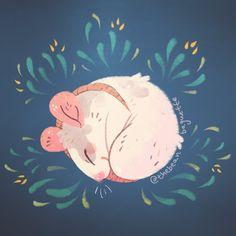 🌿bean @ sacanime IZ 24 (@thebeanbaguette) | Twitter Cute Drawings, Animal Drawings, Cute Rats, Pretty Art, Illustrations, Art Tutorials, Art And Illustration, Art Inspo, Pixel Art
