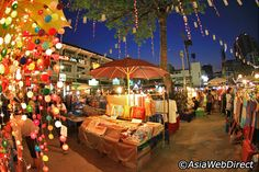 Night Bazaar in Chaing Mai