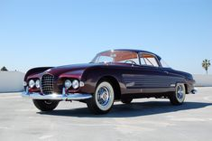 Rita Hayworth Cadillac Series 62 Coupe Ghia 1953 [That has always been a stunning beauty, just like Rita Hayworth. ~sdh]
