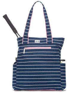 Check out our Frankie Ame & Lulu Ladies Emerson Tennis Tote Bag! Find the best tennis gear and accessories at Lori's Golf Shoppe. Click through now to see this!