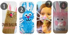 25 Easter Crafts for Toddlers and Preschoolers 1-4