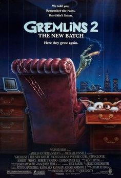 Gremlins 2: The New Batch (1990) movie #poster, #tshirt, #mousepad, #movieposters2