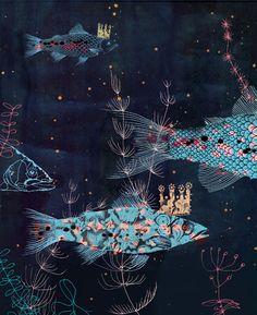 Furrary.com / Illustrator Victoria Semykina / Batiskaf / Children book cover illustration / © 2010