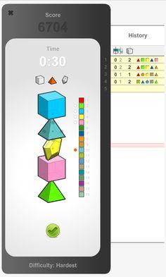 Mastermind (Code-breaker) mobile game ui design