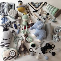 Since so many of you liked my last photo here's one of all the toys I made for…
