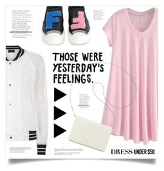 """""""Yesterday's Feelings"""" by marina-volaric ❤ liked on Polyvore featuring Antipodium, Fendi, Nine West and Dressunder50"""
