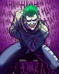 Suicide Squad The Joker Joker Dc Comics, Arte Dc Comics, Jared Leto Joker, Joker Art, Joker Pics, Joker Batman, Gotham Batman, Batman Art, Batman Robin