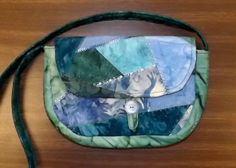 Nancy's Crazy Quilt purse from Talei's pattern.