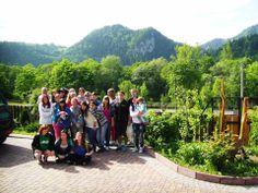 Wycieczka szkolna w Szczawnicy / widok z podwórka naszej Zwinka