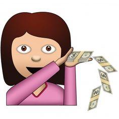 Image result for emoji throwing money
