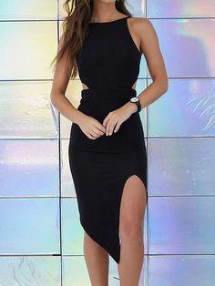 Vestido com Recorte na Cintura - Compre Online | DMS Boutique