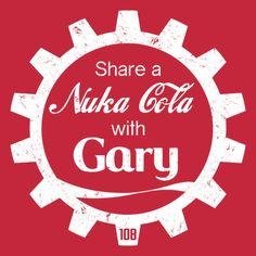 #fallout #gary #nukacola #tshirt