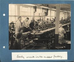 Bata Rubber Factory East Tilbury making Boots in first Factory 1935