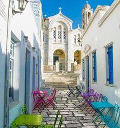 Isternia village, Tinos island #Greece
