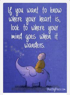 Mind wonders