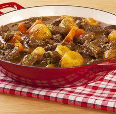 Eintopf mit Möhren, Karotten und Rindfleisch Tags: